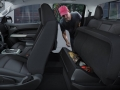 2015 Chevrolet Colorado interior side view back seats