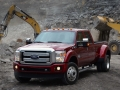 2015 Ford F-450 on the work site
