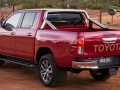 2015 Toyota Hilux rear view