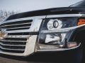 2015 Chevrolet Suburban front close up
