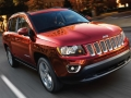 2016 Jeep Compass front angle red