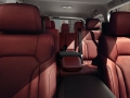 2016 Lexus LX Interior back view