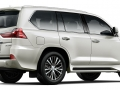 2016 Lexus LX Rear view