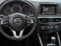 2016 Mazda CX-5 interior steering wheel close up