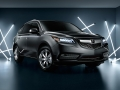 2016 Acura MDX front grey