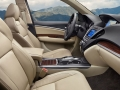 2016 Acura MDX interior side view beige
