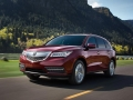 2016 Acura MDX red