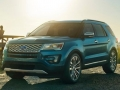 exterior 2016 ford explorer front side