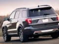 exterior 2016 ford explorer rear