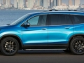 Exterior 2016 Honda Pilot side view blue