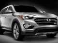 2016 Hyundai Santa Fe front view side