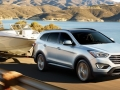 2016 Hyundai Santa Fe towing