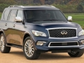 2016 Infiniti QX80 front view