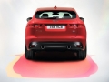 2016 Jaguar F-Pace rear bumper