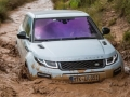 Exterior 2016 Land Rover Range Rover Evoque in the mud
