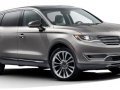 exterior 2016 Lincoln MKX front side
