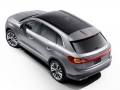 exterior 2016 Lincoln MKX up rear