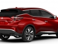 2016 Nissan Murano Cayenne Red