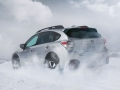 2016 Subaru Crosstrek rear snow