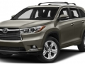 2016 Toyota Highlander front view