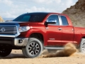 2016 toyota tundra red side view