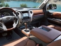 2016 Toyota Tundra interior brown