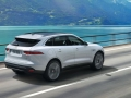 2017 Jaguar F-Pace Rear Angle
