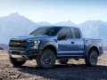 2017 Ford F150 Raptor side angle