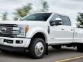 Exterior 2017 Ford Super Duty side angle