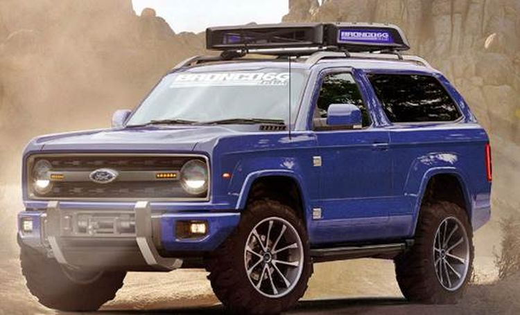 Préférence 2018 Ford Bronco Interior, Review, Price, Release Date, Engine, Specs PI44