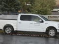 2018 Ford F-150 White In motion