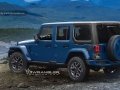 Jeep Wrangler 2018 rear left