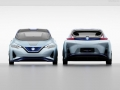 2018 Nissan Leaf front and rear end