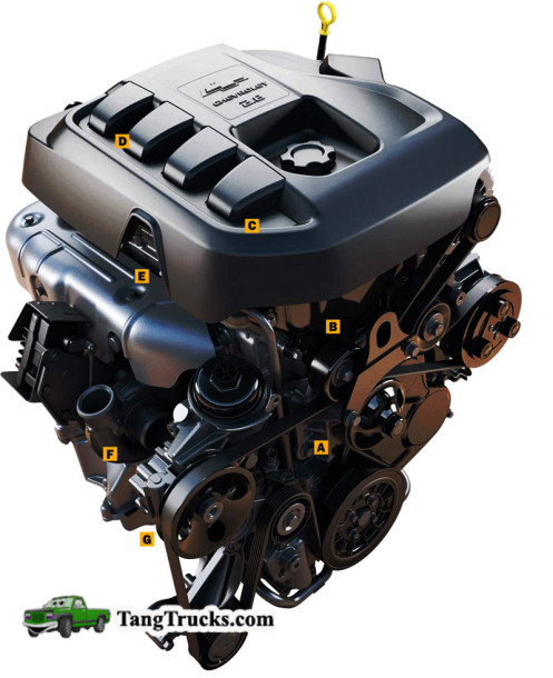 2014 Chevrolet Colorado engine