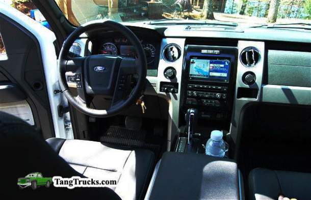 2014 Ford F-150 EcoBoost interior