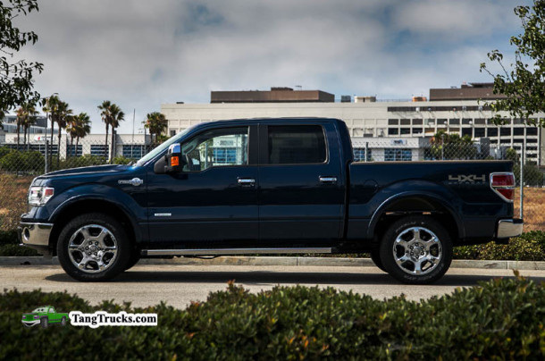 2014 Ford F-150 EcoBoost side