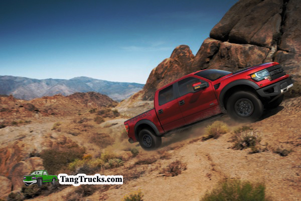 2014 Ford F-150 SVT Raptor performance