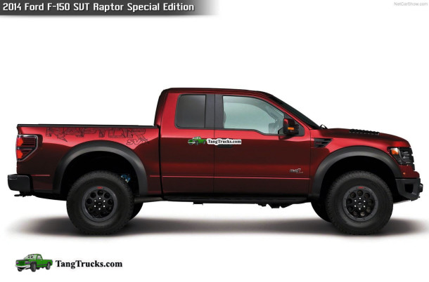 2014 Ford F-150 SVT Raptor side