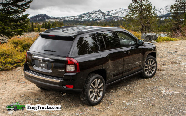 2014 Jeep Compass back