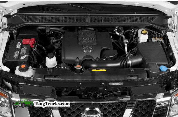 2014 Nissan Titan engine