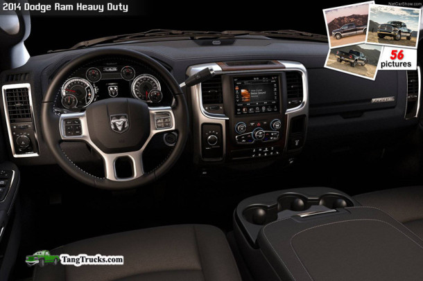 2014 Ram Heavy Duty interior