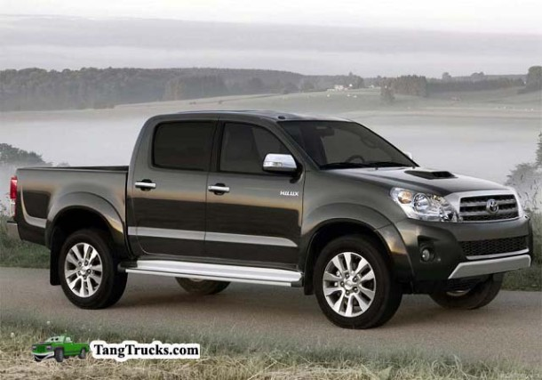 2014 Toyota Hilux side