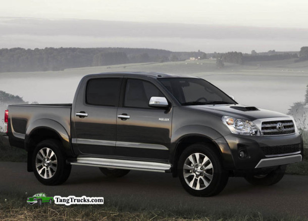2014 Toyota Tacoma side