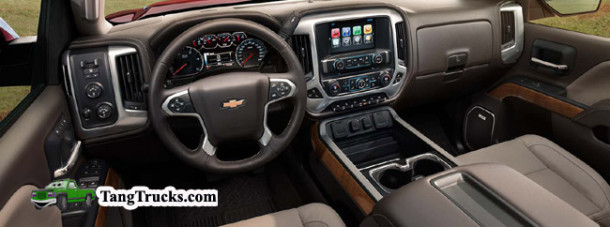 2015 Chevrolet Silverado HD interior