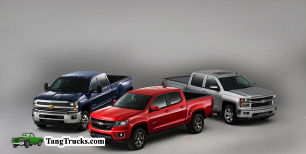 2015 Chevrolet Silverado HD models