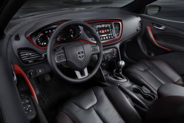2015 Dodge Dart SRT4 interior
