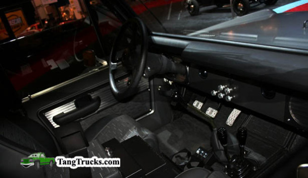 2015 Ford Bronco interior