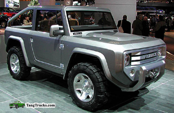 2015 Ford Bronco review