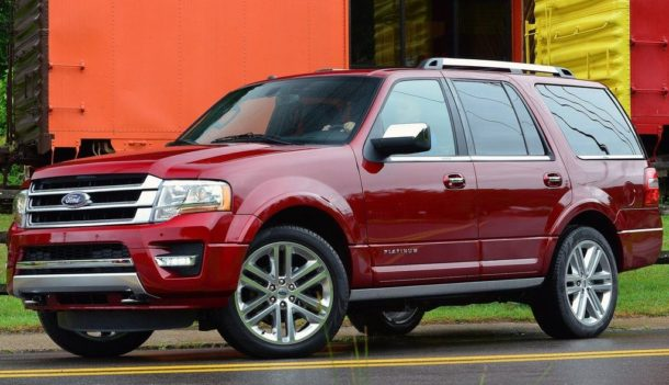 2015 Ford Expedition Front side