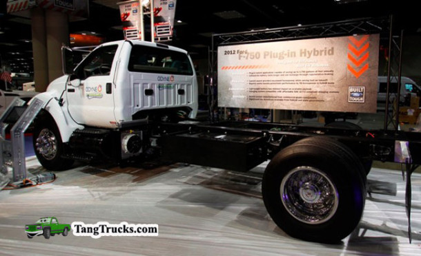 2015 Ford F-750 Hybrid Concept review